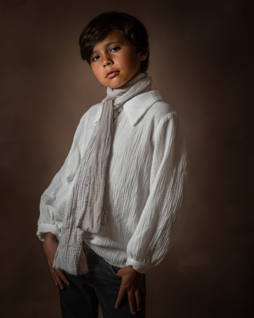 Fine Art Children Photography A young boy.