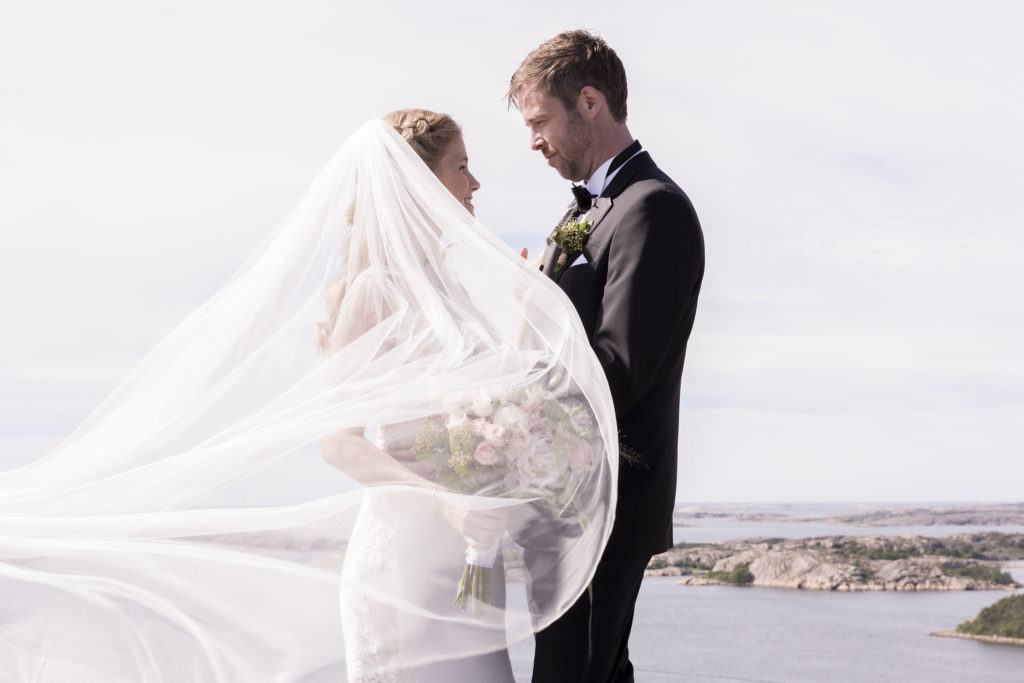 Wedding pictures from Fjällbacka, Sweden.
