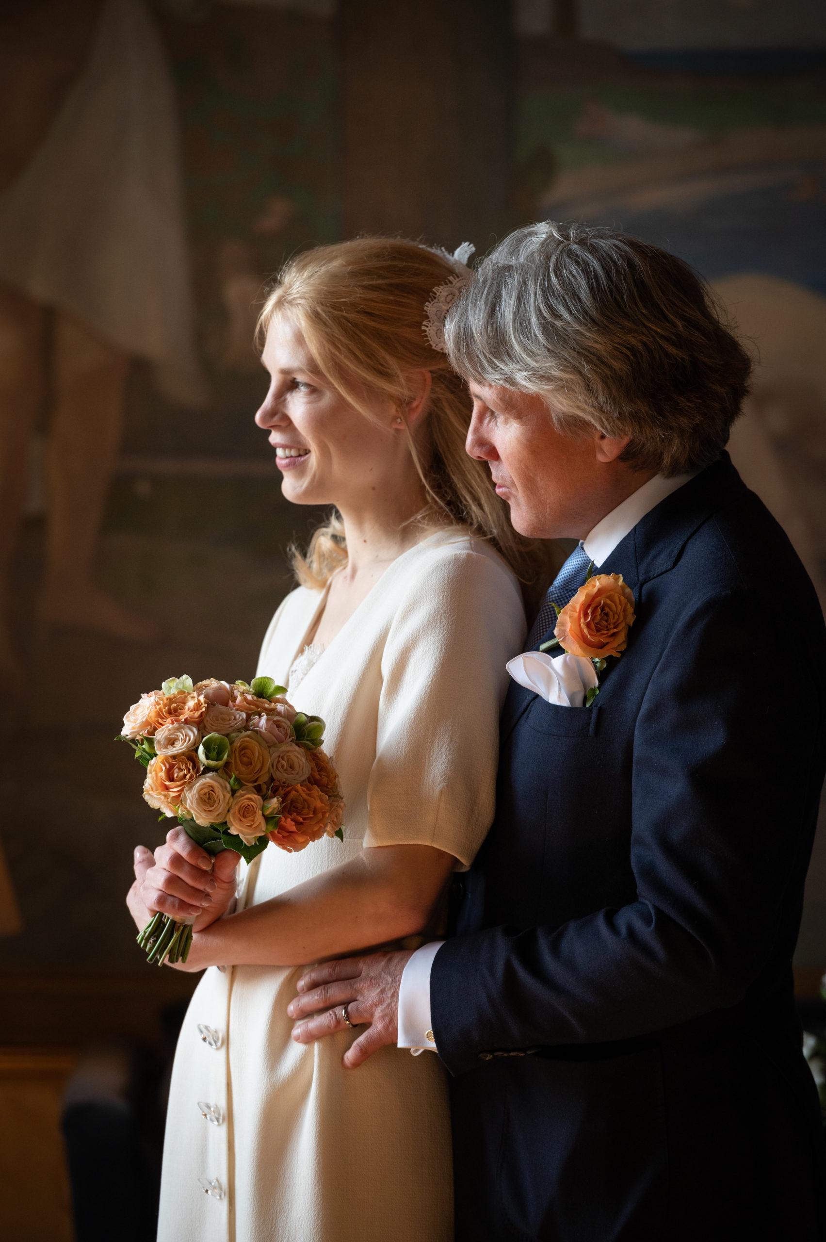 Wedding couple in Djursholm